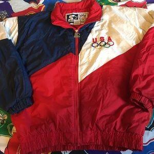Vintage Starter 1996 Olympics puffer coat